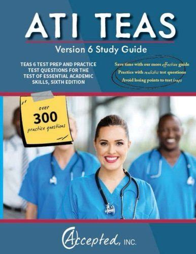 ati teas study manual sixth edition teas 6 test study guide practice test questions 6th edition book for the test of essential academic skills books ati teas study guide version 6 teas 6 test prep and