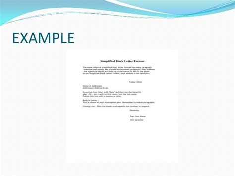 Business Letter Format Hanging Indent business letters and different styles