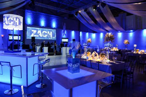 club theme bar and bat mitzvah ideas jew it up