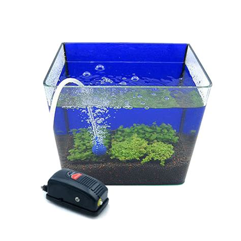 Pompa Air Mini Aquarium fish tank air electromagnetic air fish pond