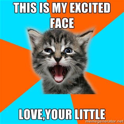 Meme Generator Kitten - excited kitten memes image memes at relatably com