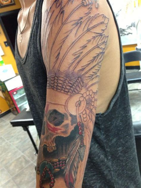 texas sleeve tattoo 77068