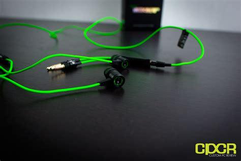 Razer Hammerhead Pro Gaming Headset razer hammerhead pro in ear gaming headset review custom pc review