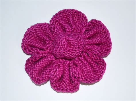 knit flowers knitted flowers collection vitalina craft