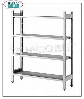 scaffali componibili scaffali componibili in acciaio inox scaffalature