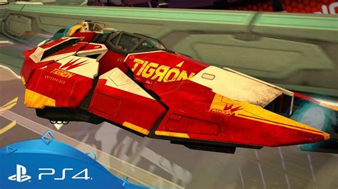 Kaset Ps4 Wipeout Omega Collection wipeout omega collection introducing the tigron k vsr ps4