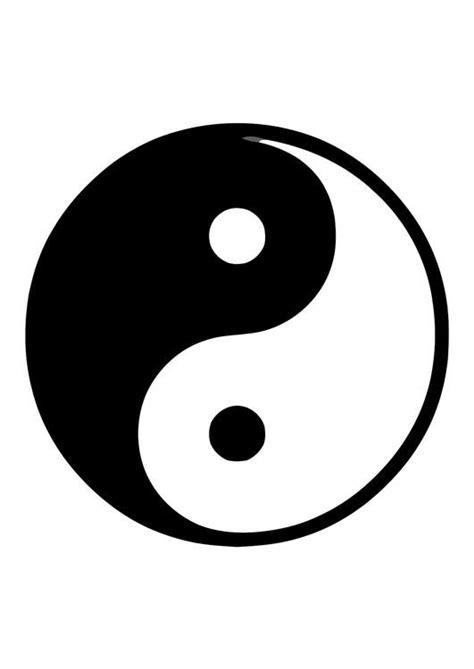 which color is yin disegno da colorare yin e yang cat 11371