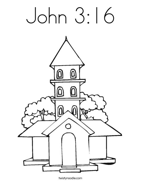 coloring page for john 3 16 john 3 16 coloring page twisty noodle