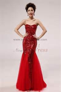 Home 2017 new style red sequins mermaid trumpet prom dresses np 0263