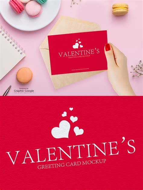 free valentines e cards free valentines greeting card in mockup