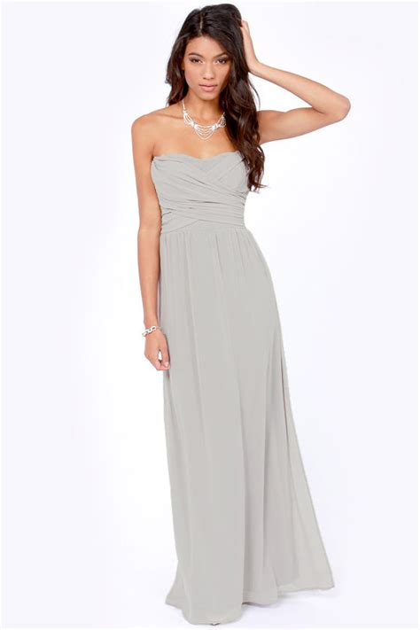 light grey dress wedding guest lovely light grey dress strapless dress maxi dress