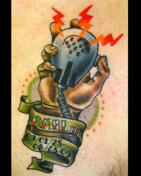 radio tattoo inspiration memorial of holding a cb