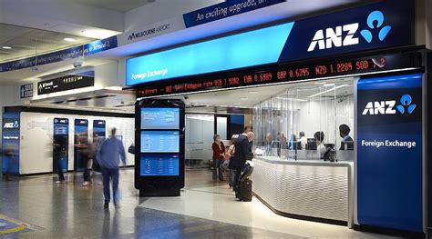 anz bank in australia anz fx landside and airside melbourne design awards