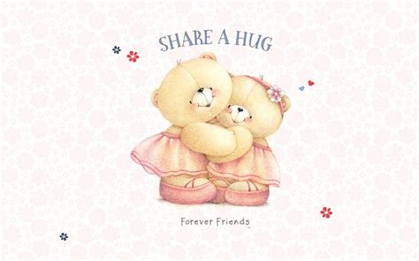 Boneka Rajutan Forever Friend a hug pass it on teddy bears forever friends a hug