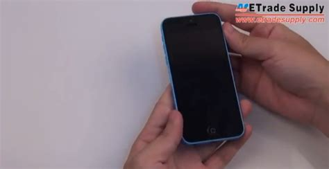 youtube tutorial iphone 5c how to reassemble iphone 5c for parts replacement