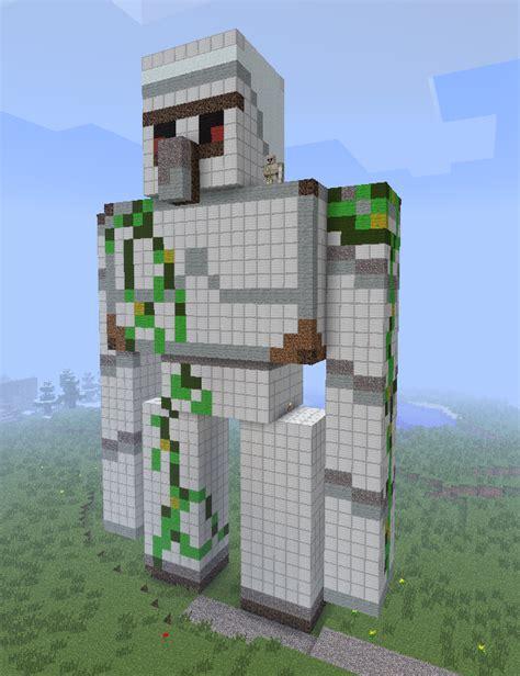 Minecraft Papercraft Iron Golem - minecraft papercraft iron golem