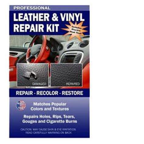 Car Leather Upholstery Repair Kit by Professional Auto Leather Vinyl Repair Kit 5 Shine