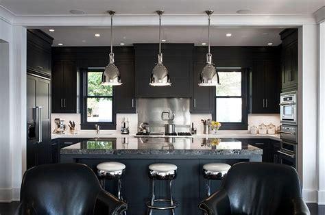 Modern Black Kitchen Cabinets Kitchen Design Trends Set To Sizzle In 2015