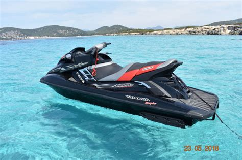water scooter ibiza jet ski rent yamaha fx sho in port d eivissa ibiza nautal