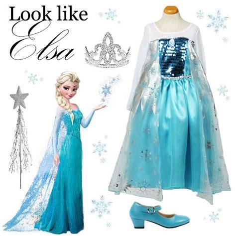 Accessories Frozen Elsa Dan prachtige elsa frozen jurk met hakkenschoenen tiara en