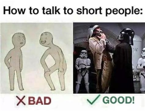 Short People Memes - how to talk to short people funny signs and memes