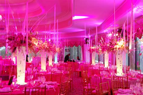 pink themed events new york wedding lighting wedding lighting s blog
