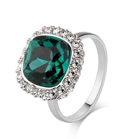 Gemstone Rings by Green Gemstone Ring Circle Of