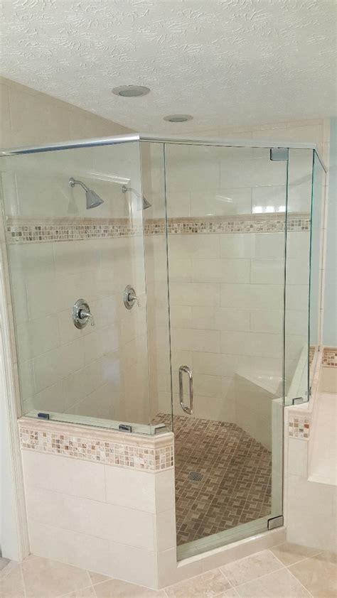 Can You Shower With Contacts by Chc Glass Mirror Shower Enclosures Atlanta Ga