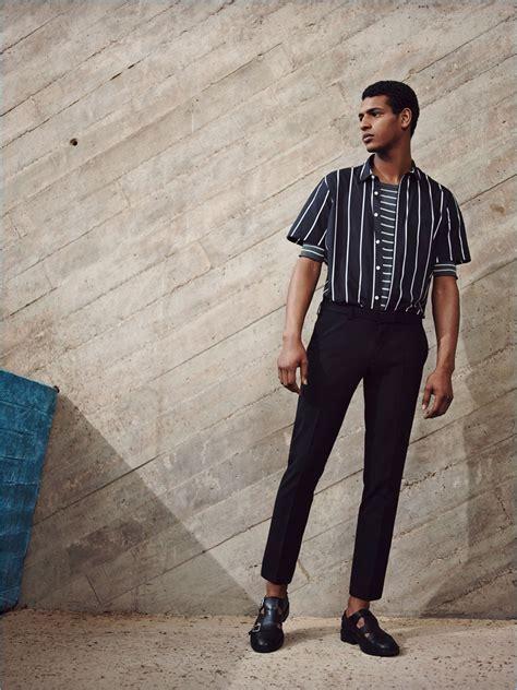 zara man striped fashions editorial spring summer 2017