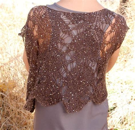 lace scarf knitting pattern mohair sequined mohair lace vest i120 by iris schreier craftsy