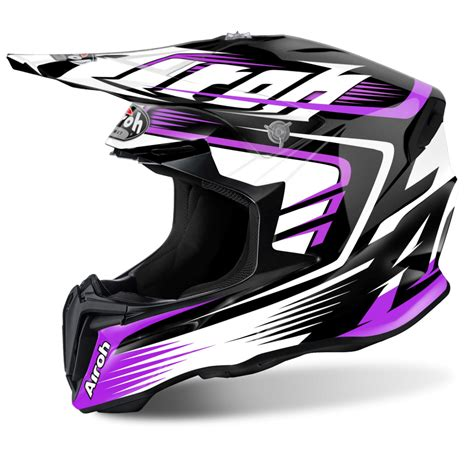 Airoh Twist Motocross Helmet Mix Pink Gloss Motorcycle
