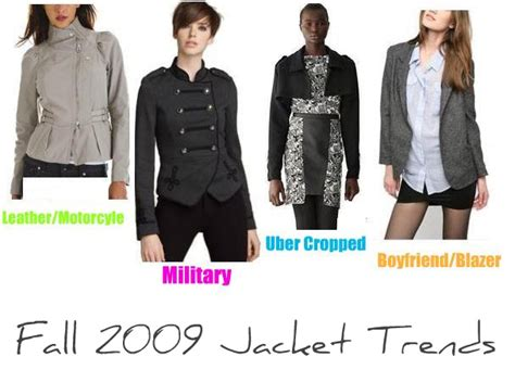 top fashion trends of 2009 fall 2009 fashion trends jackets health