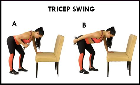 triceps swing 21 day arm fat challenge powerful workout plan femniqe
