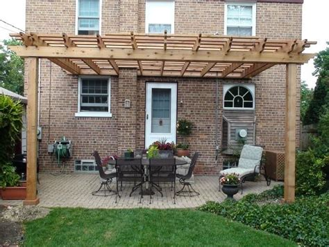how to build an attached pergola attached pergola gardening
