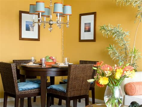 yellow dining rooms our fave colorful dining rooms hgtv