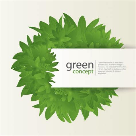 Green Concept Vector Free Download Green Concept Logo Vectors