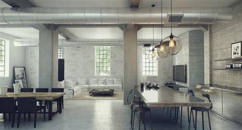 industrial loft decor industrial lofts