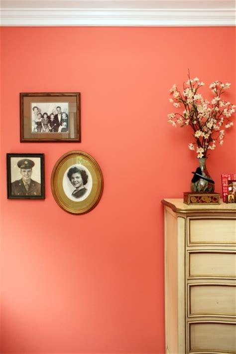 25 best ideas about coral painted walls on coral accent walls coral room accents
