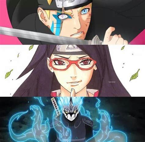 boruto japan does any one else notice how normal sarada looks compared