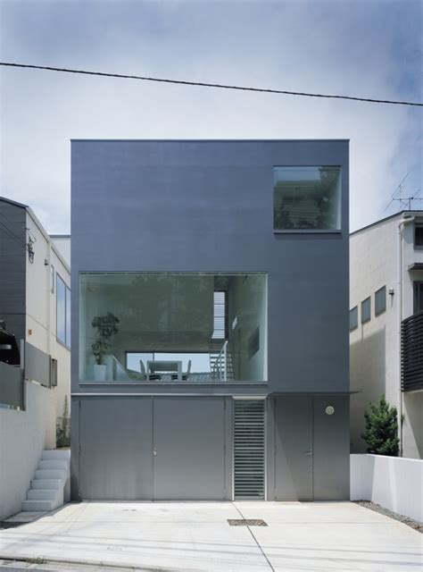 industrial house industrial design minimalist house tokyo japan plans