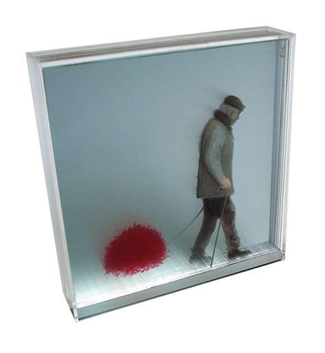 Dibujos En Tres Dimensiones Sobre Vidrio Friki Net