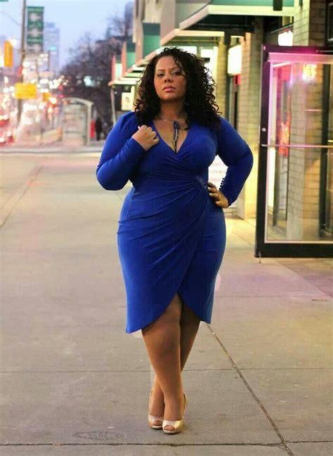 Big Size Blue royal blue plus size fashion wrap dress fashion i