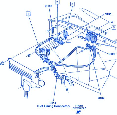 chevy silverado 5 7l 1995 electrical circuit wiring