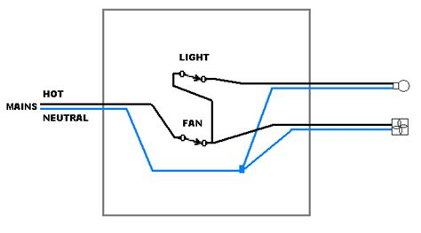 single switch for fan and light bathroom exhaust fan turn on with light or independent