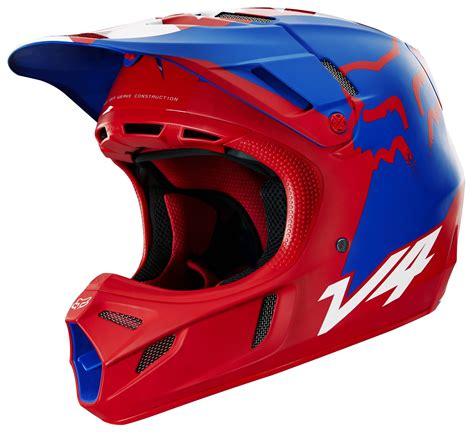 fox motocross helmets fox racing v4 libra le helmet revzilla