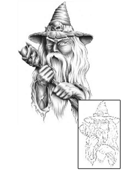 white wizard tattoo search