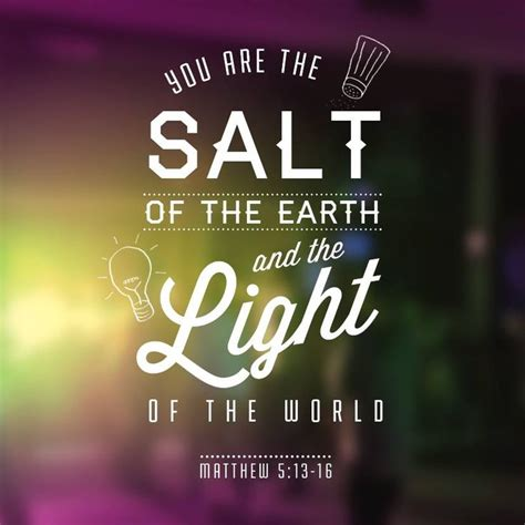salt and light bible 25 best ideas about light of the on