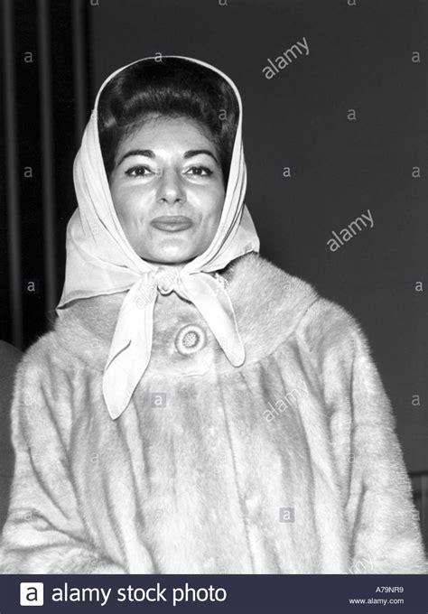 maria callas italiano maria callas italian opera singer stock photo royalty