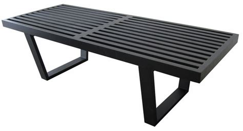 george nelson style bench george nelson platform bench nelson bench 48 quot modern in designs