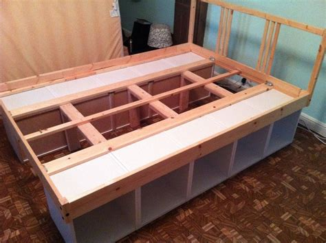 Build Your Own Bed Frame With Storage Excellent Head And Build Your Own Bed Frame With Drawers